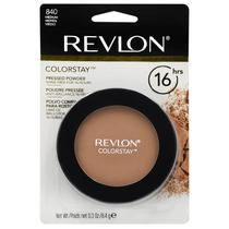 Po Facial Revlon Colorstay Pressed Powder - 840 Medium