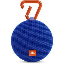 Caixa de Som Portatil JBL Clip 2 Bluetooth Azul
