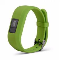 Pulseira 4LIFE de Silicone para Garmin Vivofit 3 - s - Verde Lima