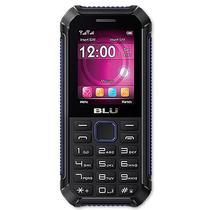 """Celular Blu Tank Xtreme T450 GSM Dual Sim com Tela Colorida de 2.4"""" - Preto/Azul"""