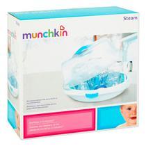 Esterilizador de Mamadeira Munchkin Steam - Branco/Azul