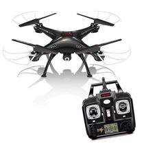 Drone Syma Real Time FPV X5SW Wi Fi 2.4GHZ 4 Canais/6 Eixos c/ Camera HD - Preto.