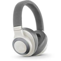 Fone de Ouvido Sem Fio JBL E65BT NC com Bluetooth e Cancelamento de Ruidos - Branco