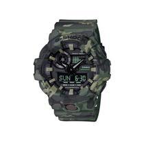 Relogio Analogico/Digital Casio G-Shock GA-700CM-3ADR Masculino Pulseira de Resina - Verde Camuflado