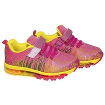 Tenis LED Gati TXL-45 Kids NO22 - Rosa