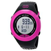 Relogio Monitor Cardiaco Soleus SG007-011 GPS Sole HRM - BLK/Pink