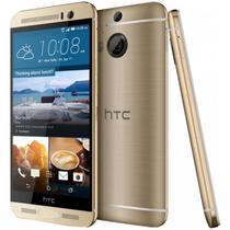 "Smartphone HTC One M9+ 1SIM Lte Tela 5.2"" 32GB/3GB 8Core Cam.20MP 4K Dourado"