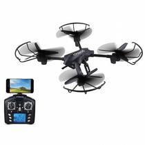 Drone Polaroid PL2400 com Controle/Camera, 2300MAH, 2.4GHZ, Wi-Fi, HD 720P - Preto