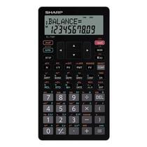 Calculadora Finaceira Sharp EL-738FB - Preto