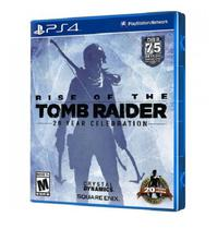 Jogo Rise Of Tomb Raider 20 Year Celebration PS4