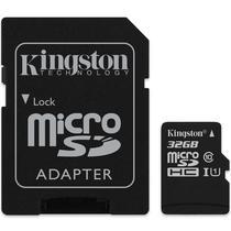 Cartao de Memoria Kingston - 32GB - Micro SD + Adaptador