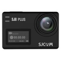"""Camera Sjcam SJ8 Plus Actioncam 2.33"""" Touch Screen 4K - Preto"""