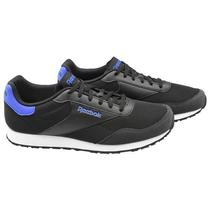 Tenis Reebok Royal Dimension Masculino No 8 - Preto/Azul