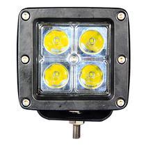 Barra LED Quanta QTFMQ12 Quadrado 4 LED s - 12WATTS Preto