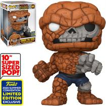 Funko Pop Marvel Zombies SDCC 2020 Exclusive - Zombie The Thing 665 (Super Sized 10EQUOT;)