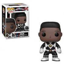 Funko Pop Power Rangers 25TH Black Zack 672