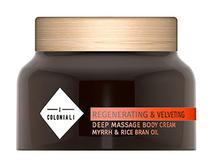 Massageador Body Wash I Coloniali Regenerating & Velveting Deep Boby Cream 200G
