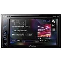 """Toca DVD Automotivo Pioneer AVH-195DVD Tela 6.2"""" com USB/CD/DVD - Preto"""