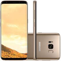 """Smartphone Samsung Galaxy S8 SM-G950FD 64GB Lte Dual Sim 5.8"""" Cam.12MP+8MP-Dourado"""