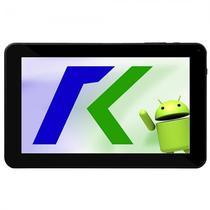 Tablet Keen A98 9.0EQUOT; Wifi 2MP VGA Os 4.4.2 Preto com Capa