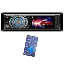 Toca Radio Automotivo Roadstar RS-2040MP5 com USB/Auxiliar/FM - Preto