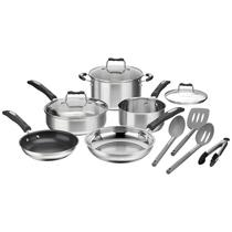 Kit de Utensilios de Cozinha Cuisinart P87-12 (12 Pecas) - Prateado