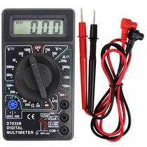 Multimetro Digital Snauzer DT830B Profissional Portatil - Preto