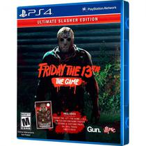 Jogo Friday The 13TH The Game Ultimate Slasher Edition PS4