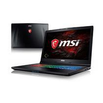 """Notebook MSI Gaming Leopard Pro GP72M 7REX i7-7700HQ 2.8GHZ/ 16GB/ 1TB+256GB SSD/ 17.3""""FHD / GTX1050TI 4GB VGA/ W10/ Ingles"""