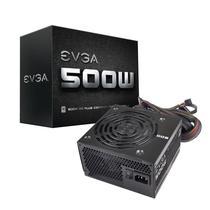 Fonte de Alimentacao para PC EVGA 500W 100-W1-0500-KR com 80 Plus White/500W/Bivolt - Preto