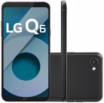 "Smartphone LG Q6 M700A 32GB Lte Dual Sim Tela 5.5"" Cam.13MP+5MP-Preto"