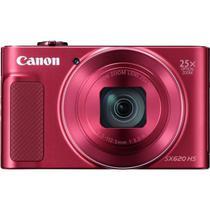 Camera Digital Canon Powershot SX-620 HS - 20.2 Megapixels - 25X - Vermelho