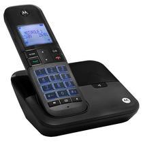 Telefone Sem Fio Motorola M6000 Dect 6.0 com Identificador de Chamadas Bivolt - Preto