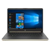 Notebook HP 14-DQ0011DX - Intel Core i3-8145U 2.1GHZ - 4GB Ram - 128GB - 14 - Dourado