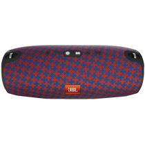 Caixa de Som JBL Xtreme 40W com Bluetooth/USB Bateria 10.000 Mah - Malta Vermelho/Azul
