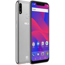 "Smartphone Blu Vivo Xi+ Dual Sim Lte 6.2"" FHD 64GB/4GB Prata - Garantia 1 Ano No Brasil"