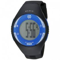 Relogio Monitor Cardiaco GPS Soleus SG013-020 GPS Pulse Bluetooth Preto/Azul
