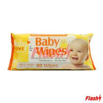 Lenco Humedo p/ Bebe Personal Care Manteiga de Carite 80UN