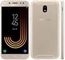 "Smartphone Samsung Galaxy J7 Pro SM-J730F 16GB Lte Dual Sim Tela 5.5"" Cam.13MP+13MP-Dourad"