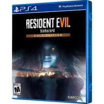 Jogo Resident Evil 7 Gold Edition PS4
