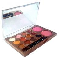 Paleta de Sombra Kiss Beauty Colors 12 Cores