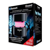 Caixa de Som Isound Fire Waves Preto