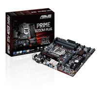 Placa Mãe Asus LGA1151 B250M-Plus Prime M.2/HDMI/VGA/DVI