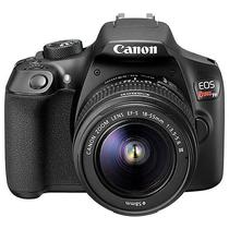 "Camera DSLR Canon Eos Rebel T6 18MP 3.0"" Wi-Fi/NFC + Lente Ef-s 18-55MM III - Preta"