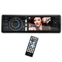 """Toca DVD Automotivo Powerpack CADV-310.BL Tela 3.0"""" com Bluetooth/USB/SD - Azul"""