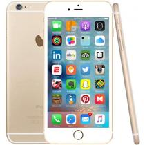 "Smartphone Apple iPhone 6S Plus MKVQ2LL 16GB Video 4K 3D Touch Tela 5.5"" Dourado"