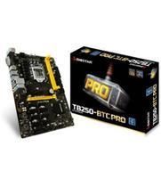 Placa Mãe 1151 Biostar TB250-BTC Pro DDR4 8PCI.