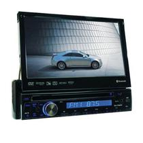"Reprodutor DVD Automotivo Roadstar RS-7755FBT 7.0"" com Bluetooth/USB - Preto"