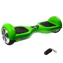 "Scooter Eletrico Audisat Smart Wheel TP-025 6.5"" com Speaker/Bluetooth + Bolsa - Verde"