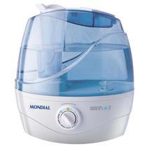 Umidificador de Ar Mondial Comfort Air 2 NUA02 2.2 Litros 30 Watts Bivolt - Branco/Azul